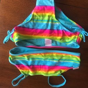 Other - Girls bathing suit size 10 with cover up